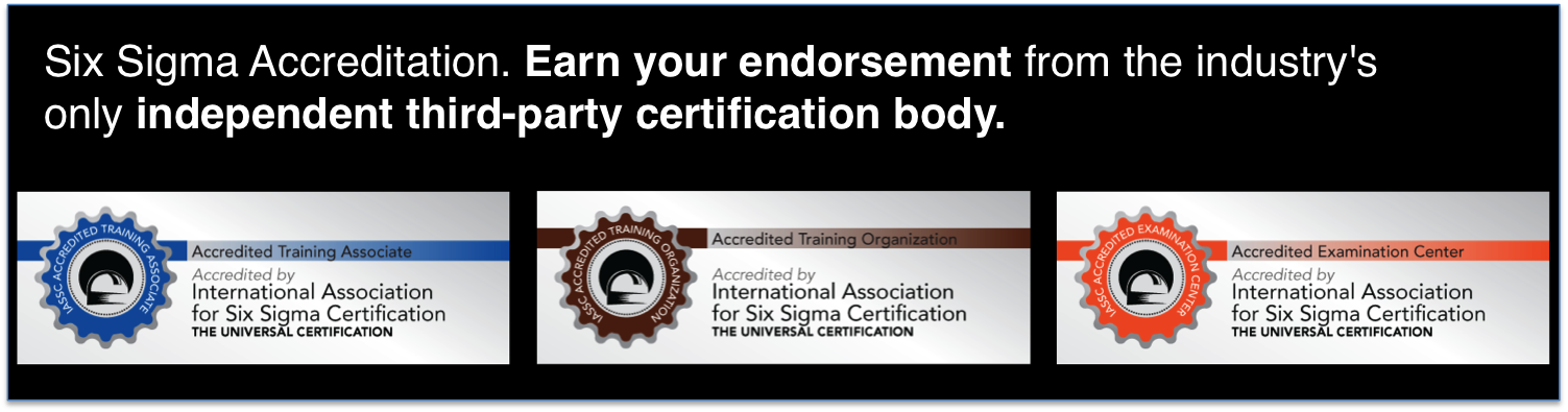 International Association for Six Sigma Certification