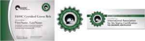 iassc-certified-green-belt-marks